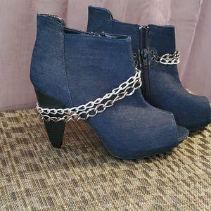 ⭐Ankle Boots, Unique Jean Style⭐